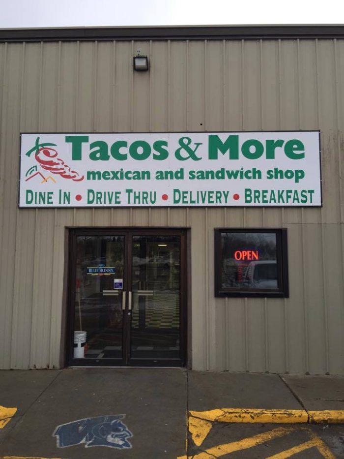 10. Tacos and More - Wayne, NE