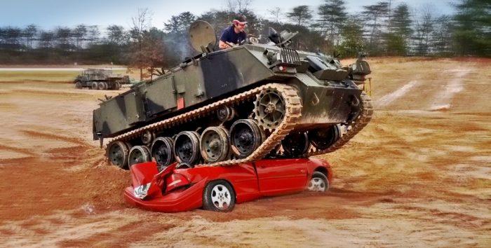 2. Tank Town USA—Morgantown, Georgia