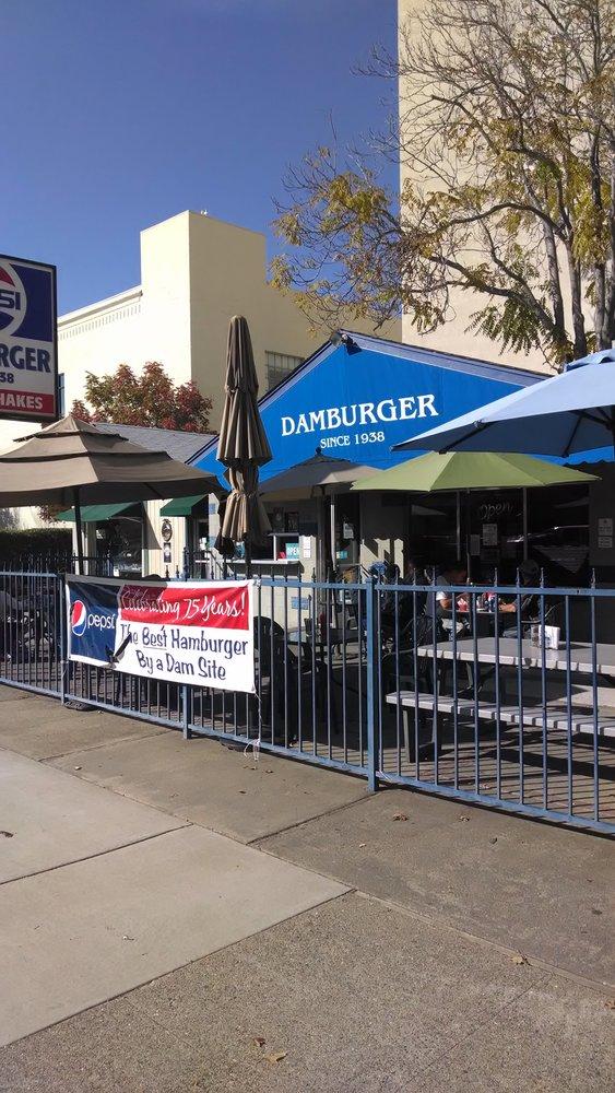 7. Damburger, 1320 Placer Street, Redding