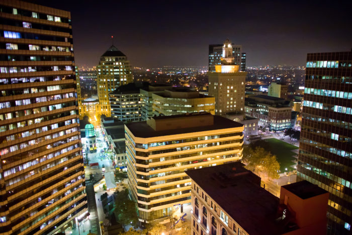 9. Oakland Skyline