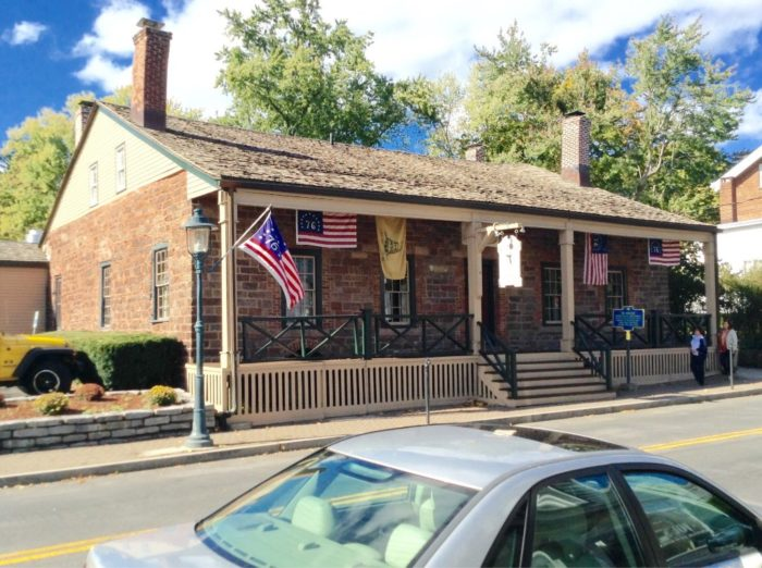 Known as one of America's oldest taverns, The '76 House is on the United States National Register of Historic Places.
