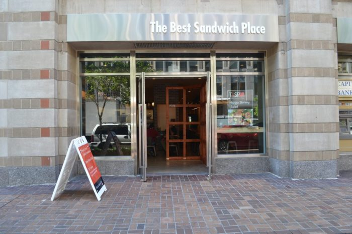 9. The Best Sandwich Place