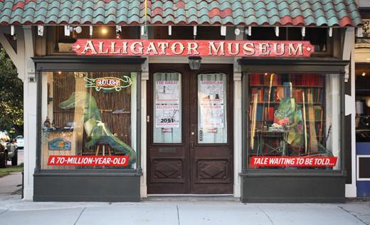8) The Great American Alligator Museum, 2051 Magazine St.