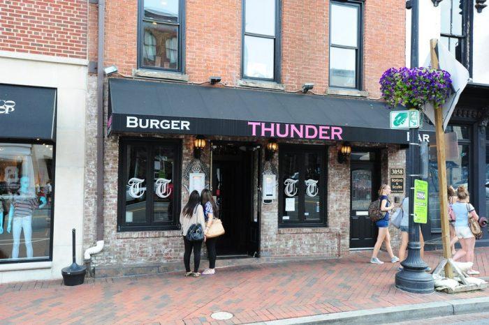 1. Thunder Burger & Bar