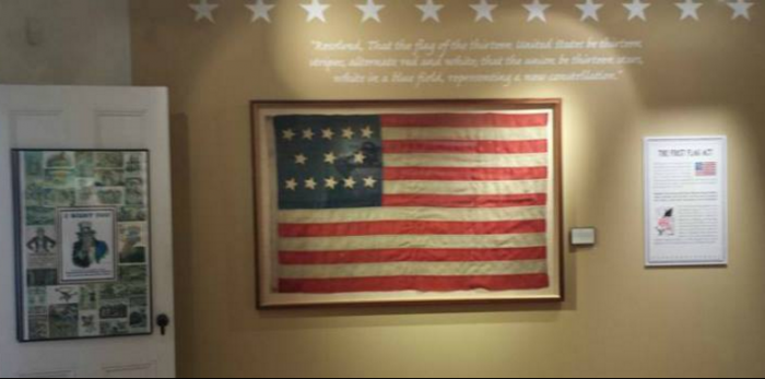7. The Twin Lights Museum houses an incredible American flag exhibit - Seeing Stars.