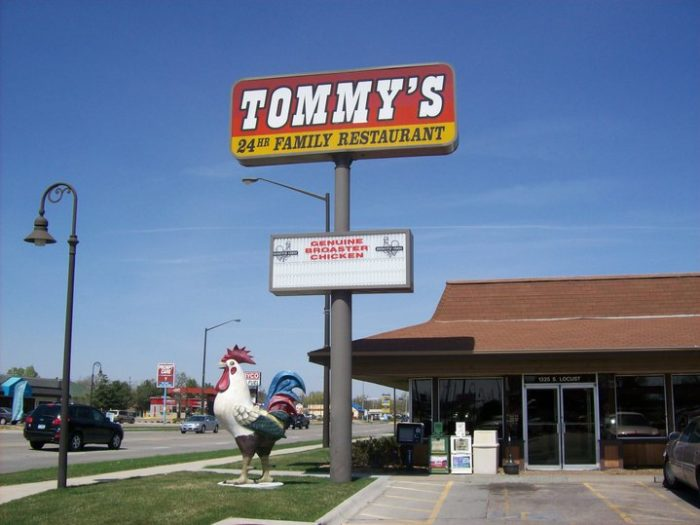 16. Tommy's 24 Hour Family Restaurant, Grand Island
