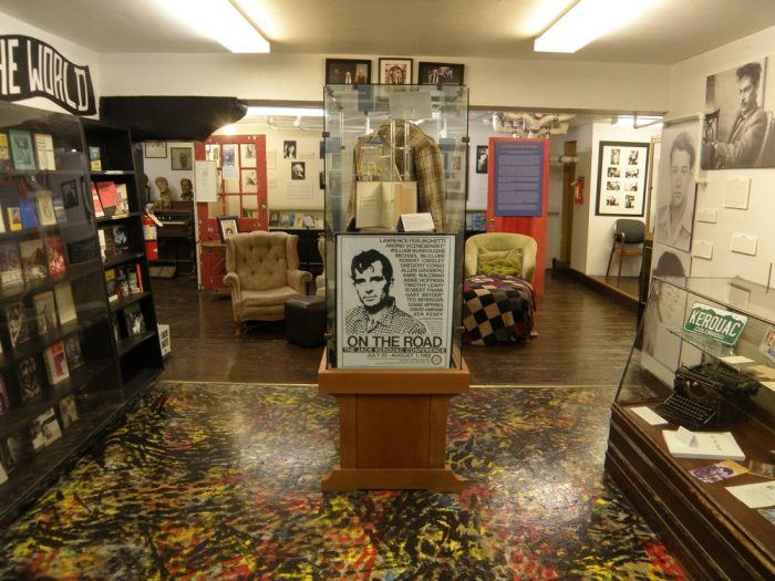 Dedicate an hour or two to exploring two floors worth of Beat memorabilia, including original manuscripts, handwritten letters, photos, posters, and the personal effects of legendary Beats like Kerouac, Ginsberg, and Cassady.