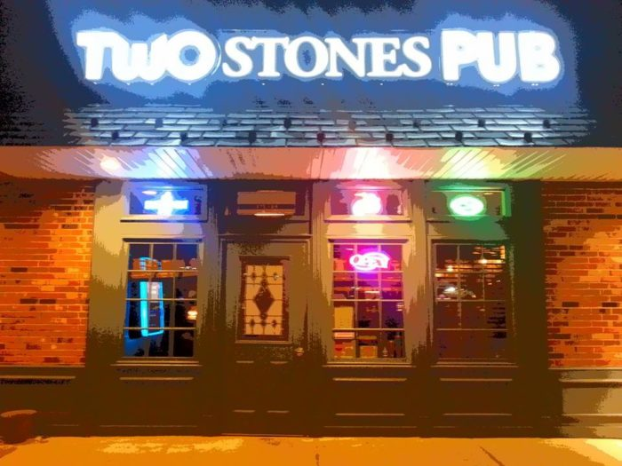 Day 1: Lunch at Two Stones Pub in Newark