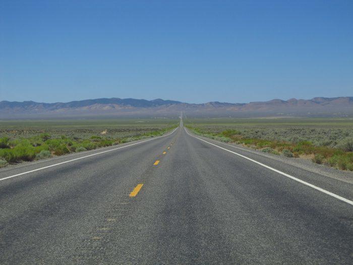 3. Explore along U.S. 50, the Loneliest Road in America.