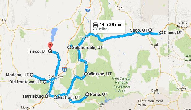 Southern Utah Ghost Town Road Trip