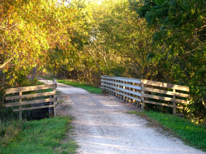 3. Wabash Trace Rail Trail, North of Coin