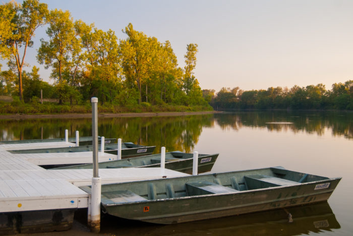 The lakes also offer great fishing for largemouth bass, bluegill, crappie and catfish.