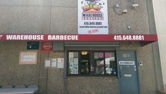 9. Smokin' Warehouse Barbecue: 1465 Carroll Ave. & 3336 Sacramento St.