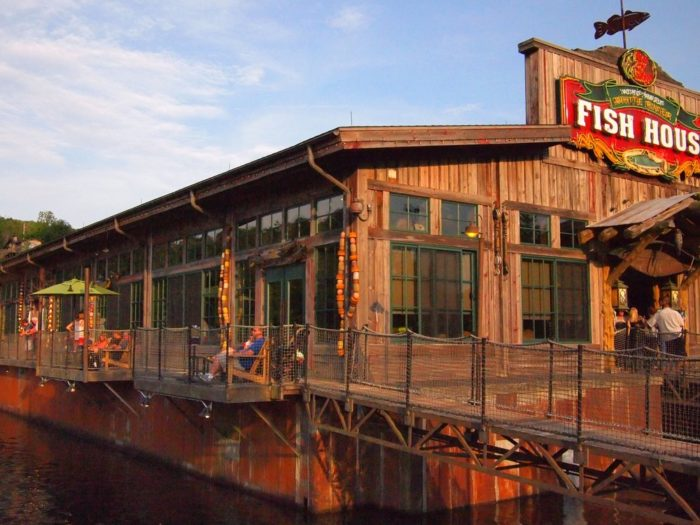 6. White River Fish House -  Branson