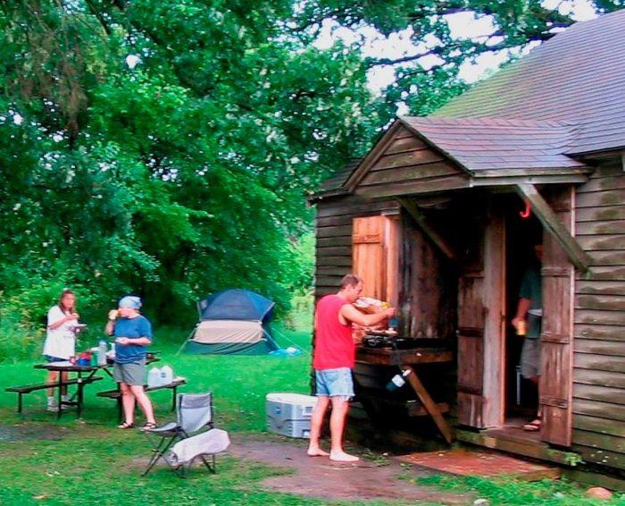 3. Whiterock Conservancy Cabins, Coon Rapids