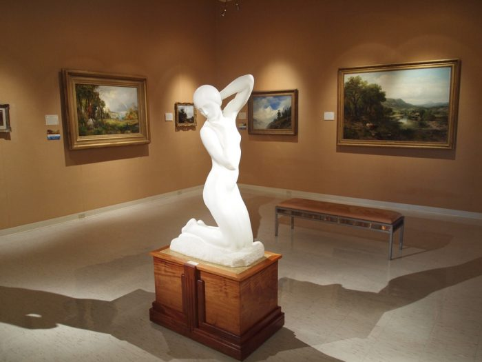 The art collection here spans the centuries and is full of gorgeous pieces from around the world.