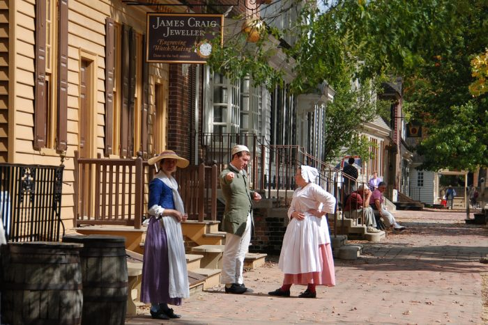 6. Colonial Williamsburg