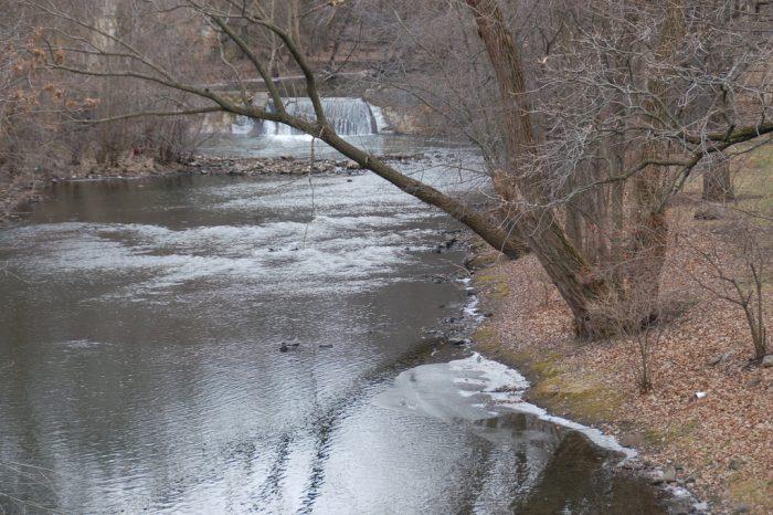 9. Willow Creek Waterfall, Mason City