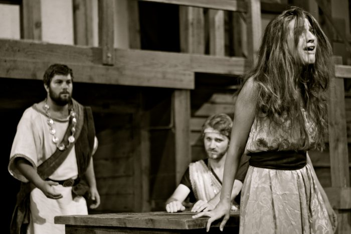 Laugh and cry at a Shakespearian play at the Winedale barn.
