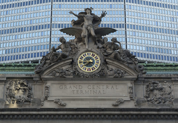 8. Want to know where the World's Largest Tiffany Clock is? Well, look no further.