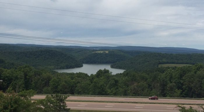 In need of a rest stop? Swing by the Youghiogheny Overlook Welcome Center. With a spectacular view of the valley below, vending machines, and picnic tables, this is one stop that is sure to refresh the senses.