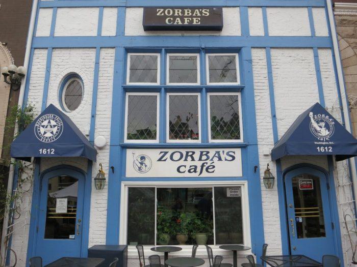 5. Zorba's Cafe