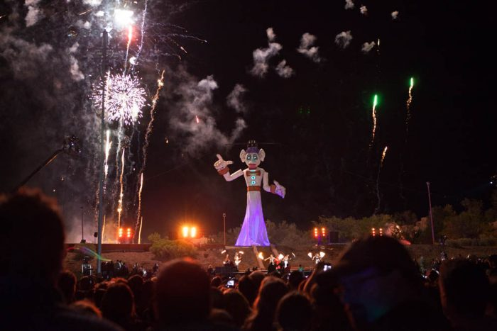 10. Take part in a festival during which a 50-foot puppet is set on fire. (Santa Fe)