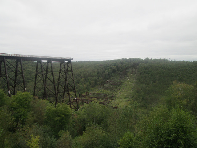 1. Stop by the Kinzua Bridge.