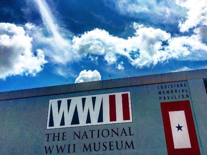 The WWII Museum can be found in the heart of the CBD, at 945 Magazine St.