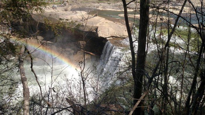 1. Cumberland Falls, Corbin