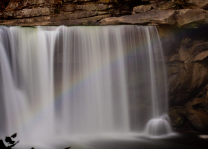 1. Seeing a renowned moonbow