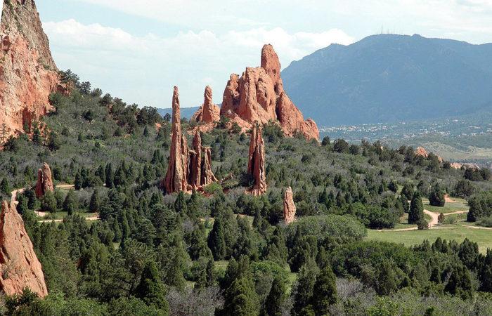 7. Garden of the Gods (Colorado Springs)