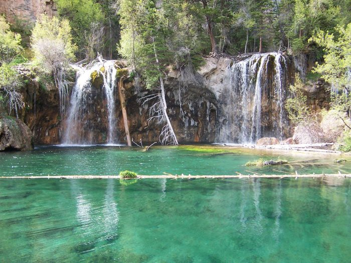 The area was purchased by Glenwood Springs in 1910 after Congress passed the Taylor Bill. Hanging Lake was then turned over to the Forest Service in 1972.