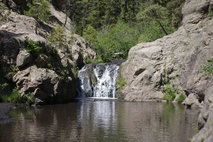 Stay At New Mexico S Magical Waterfall Campground