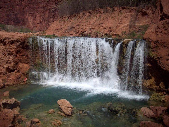 7. Lower Navajo Falls