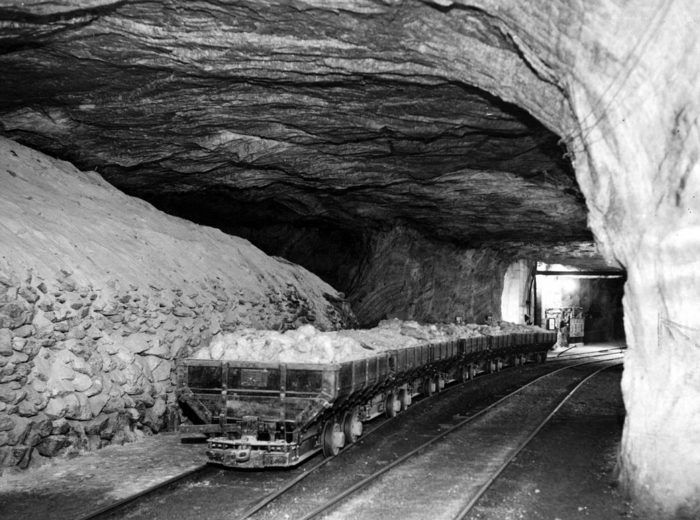 Before becoming the Hutchinson Salt Company, the mines were known as the Carey Salt Company and were originally opened in 1923.