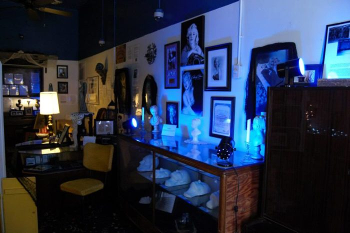 This museum is dedicated to all things haunted and paranormal.