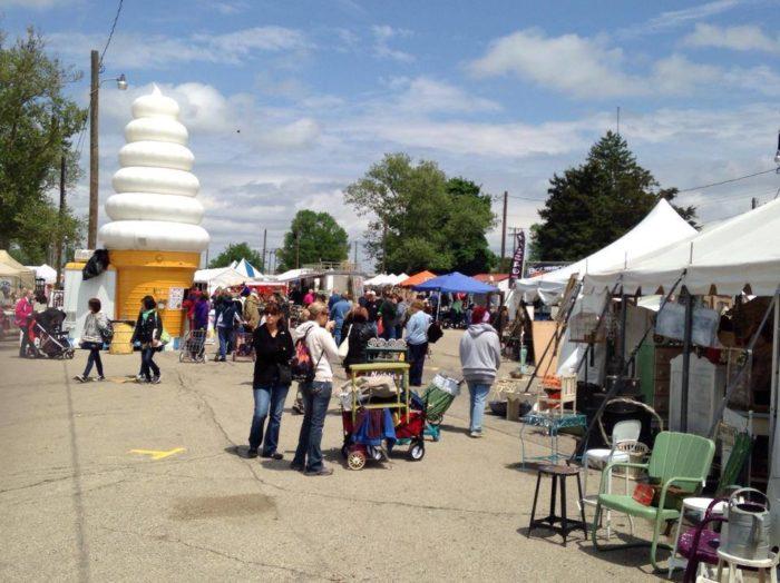 6. Springfield Antique Show and Flea Market
