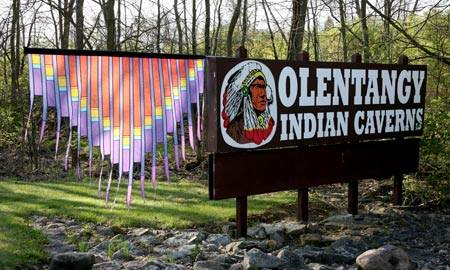 History and geology blend at this unique attraction, which features caverns once used by the Wyandotte Indians.