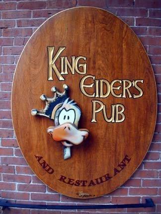 2. King Eider's Pub, Damariscotta