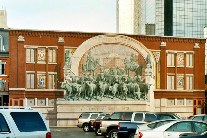 "8. Fort Worth was a stop on the Chisholm Trail used for cattle transport, earning it the name ""Cowtown."""