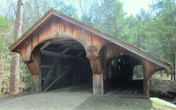 Does this covered bridge look familiar?