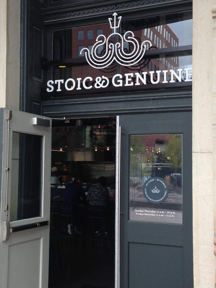 Stoic & Genuine...