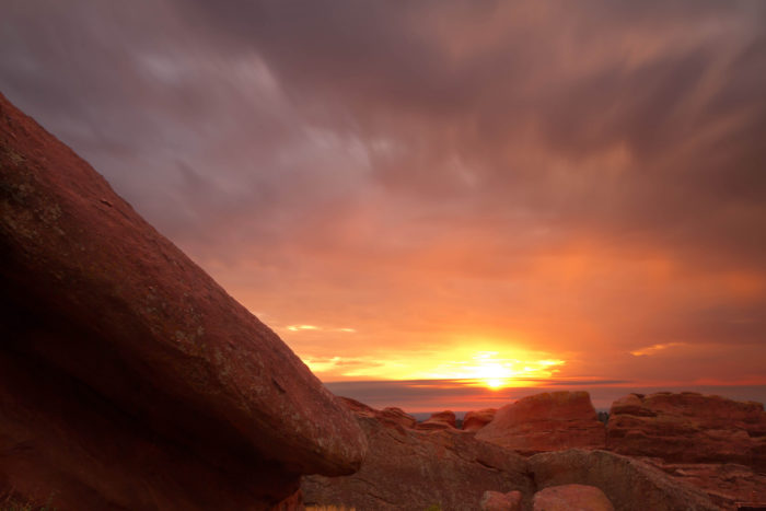 2. Better yet, get up and at 'em for a Red Rocks sunrise and spend the day exploring your surroundings.