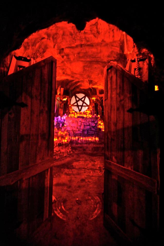 The House of Shock is a 25,000-square-foot haunted house that more than 350 volunteers and staff members operate.