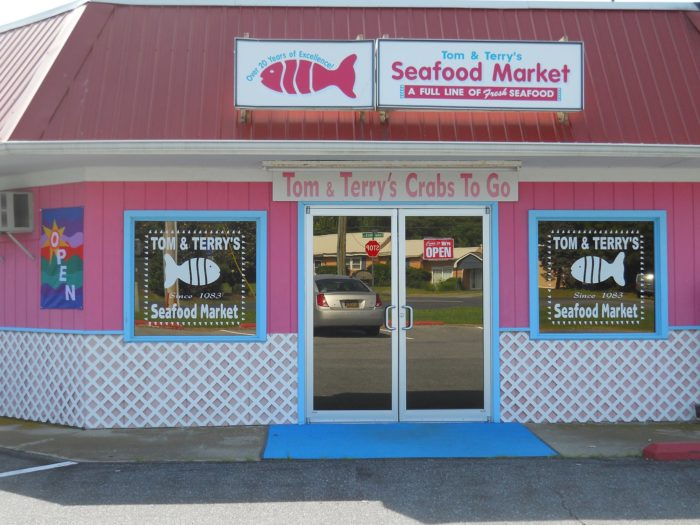 3. Tom and Terry's Seafood Market