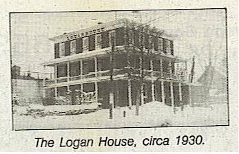 Over the years, many famous travelers have spent the night at the Logan House.
