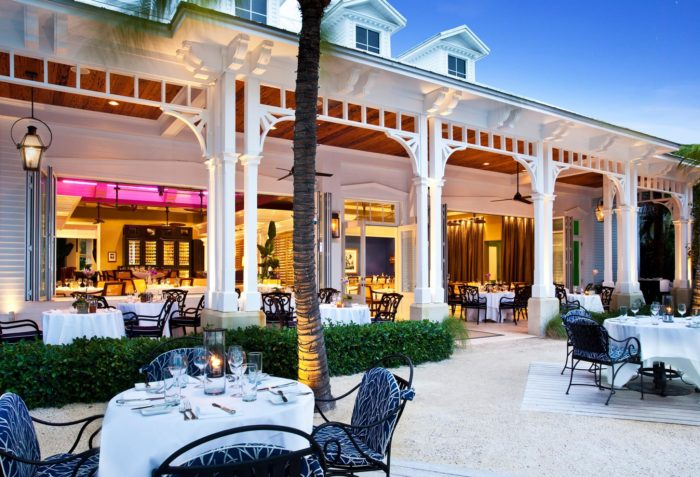 Latitudes is secluded, but it's no secret: It was named Key West's Best Overall Restaurant of 2016 by Open Table.
