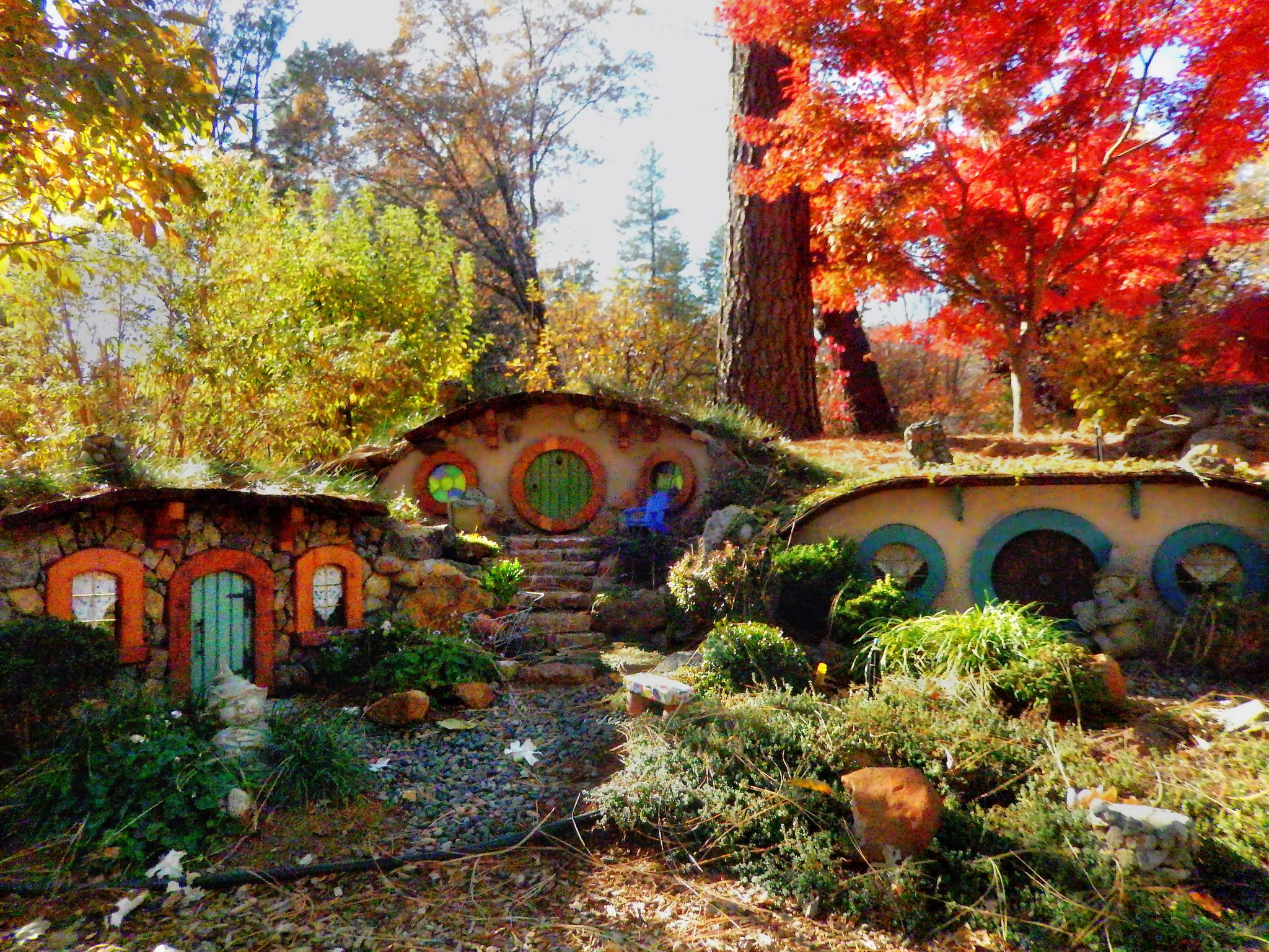 Abandoned Enchanting Hobbiton Park In California