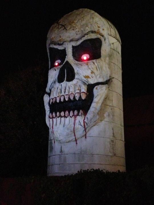 8. Frightland's Giant Skull Silo
